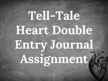Tell-Tale Heart Double Entry Journal Assignment