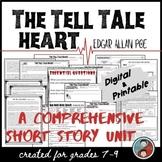 The Tell Tale Heart Horror Fiction Unit