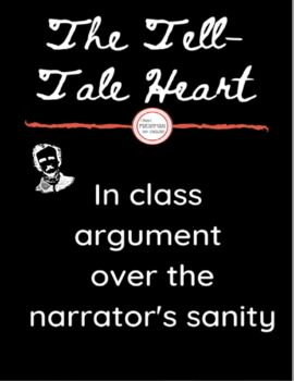 Tell-Tale Heart- In class argument / debate - Textual Evidence