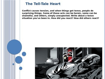 Tell-Tale Heart (Major vs. Minor Conflict) PPT
