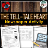Tell-Tale Heart Newspaper Project - Digital and Print Versions Included