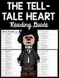 Tell-Tale Heart Reading Guide- Edgar Allan Poe; Short Story; Tell Tale