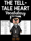 Tell-Tale Heart Vocabulary using Word Stems & Context Clues Worksheet Tell Tale