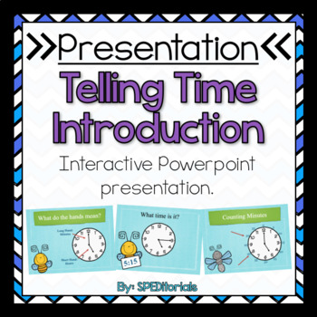 Tell Time Introduction Presentation
