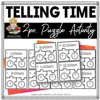 Tell Time Puzzles