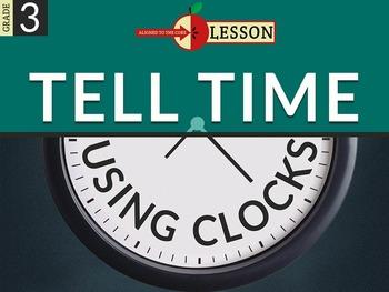 Tell Time Using Clocks