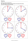 Tell Time on an Analog Clock With Visual Prompts