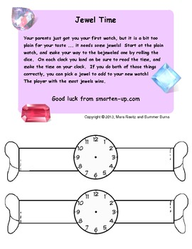 Tell Time to the Hour Game
