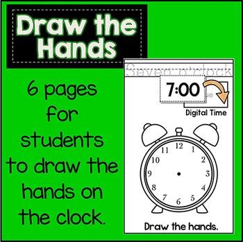 Tell & Write Time Cut N' Glue Math Booklet!