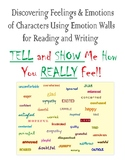Emotion Wall for Reading and Writing   Understanding Characters by their Actions