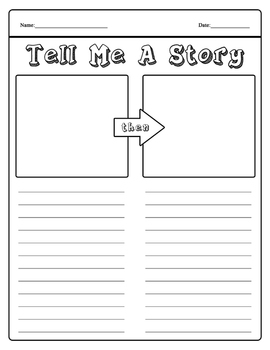 Tell me a story - Draw and Write