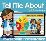 Tell me about you!   Powerpoint Presentation   Free