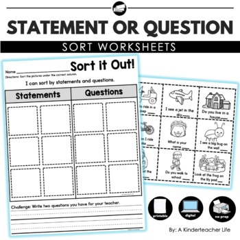 Statment and Question Sort