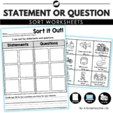 Statement or Question Sort