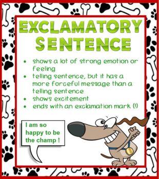 Telling Sentences Asking Sentences