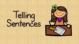 Telling Sentences Introduction (Simple)