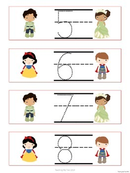 Telling TIME with Princesses