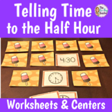 Telling Time to the Hour and Half Hour