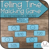 Telling Time to the Nearest 5 Minutes Matching Game