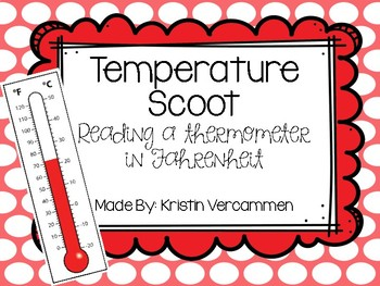 Telling Temperature SCOOT - Using a thermometer