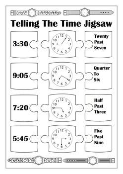 Telling The Time Activity Pack!