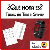 Telling The Time In Spanish - ¿Qué hora es? - Activity Pac