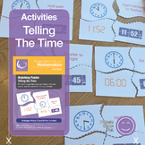Telling The Time Matching Activity