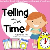Telling The Time   o'clock and half past activities