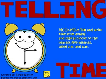 Telling Time!