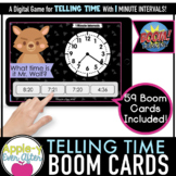 Telling Time - 1 Minute Intervals Digital Task Cards for B