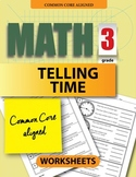 3rd Grade Worksheets: Telling Time