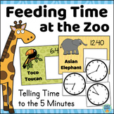 Telling Time Game Time to the 5 Minutes