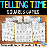 Telling Time Games (Nearest Hour, Half Hour, 15 Min, 10 Min, 5 Min, 1 Min)
