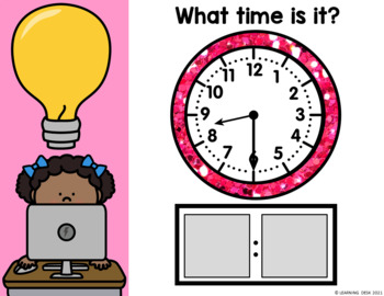 Clock Activity-Telling Time to the Hour and Half Hour