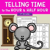 Telling Time to the Hour and Half Hour - 1st Grade