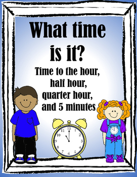 Telling Time 2nd Grade
