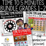 Telling Time 2nd Grade Math Bundle