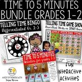 Telling Time 2nd Grade Math Bundle