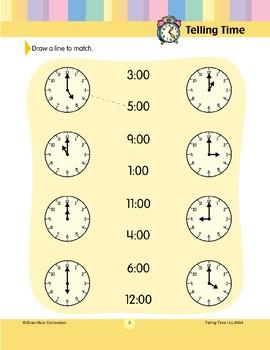 Draw a Line to Match (Hour)