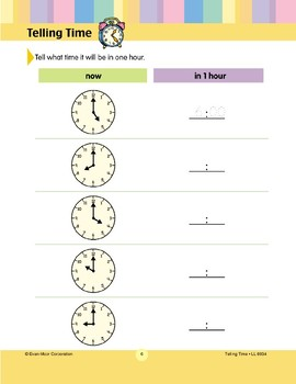 Tell What Time It Will Be (Hour)