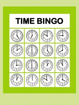 Telling Time - 4 Pack