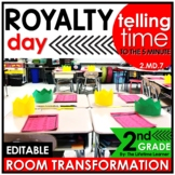 Telling Time to the 5 Minute | 2nd Grade Royal Room Transf