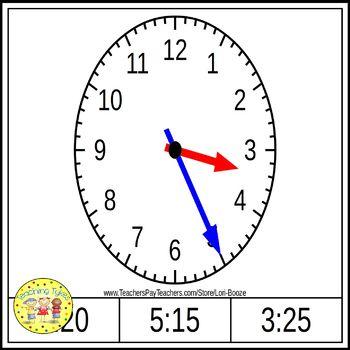 Telling Time 5 Minutes Bundle
