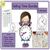 Telling Time 5 Minutes Bundle