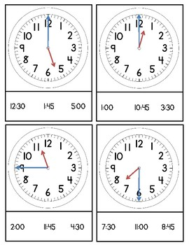 Telling Time 6