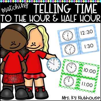 Telling Time: A Matching Game
