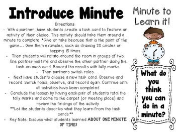 Telling Time:  A Primary Unit to Dig Deeper and Fully Understand Time