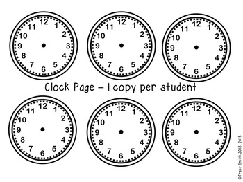 Telling Time:  A Timeline of My Day - Engaging Project for Telling Time