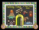 A Telling Time Game - Time Travel - 2nd, 3rd, and 4th Grade