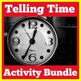 Telling Time | Kindergarten 1st Grade | Activities BUNDLE